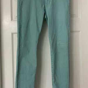 Cabi Thin Mint Skinny Jeans Size 6 #322